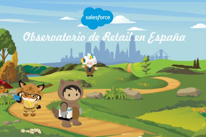 Salesforce presenta el Observatorio de Retail para España - Clarcat
